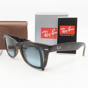 RB4105 894/3M Ray-Ban Matte Havana FOLDING Sun